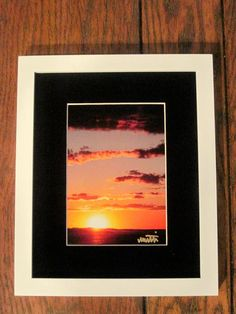 Woods Hole Sunset in New White Frame by MuttiArtography on Etsy, $35.50