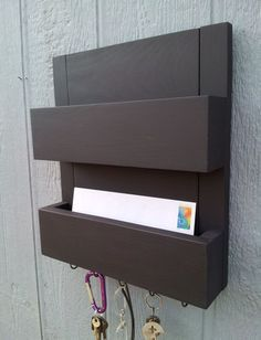 Mail Rack Organizer 2 Pocket