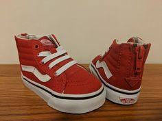 e4c52619f7e6 VANS New Sk8-Hi Zip Varsity Vault Toddler Size USA 5  fashion  clothing   shoes  accessories  babytoddlerclothing  babyshoes (ebay link)