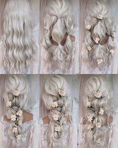 18 tutorials for wedding hairstyles for brides and bridesmaids # brides # bridesmaids . nice 18 tutorials for wedding hairstyles for brides and bridesmaids # brides # bridesmaids # for Medium updos, # updos # medium Bride Hairstyles For Long Hair, Wedding Hairstyles Tutorial, Simple Wedding Hairstyles, Up Hairstyles, Braided Hairstyles, Hairstyle Tutorials, Bridesmaids Hairstyles, Bridal Hair Tutorial, Flower Hairstyles