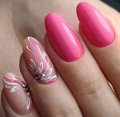 Beautiful nail art designs that are just too cute to resist. It's time to try out something new with your nail art. Colorful Nail Art, Trendy Nail Art, Nail Art Design 2017, Nail Art Designs, Nail Design, Hair And Nails, My Nails, Party Nails, Nagel Gel