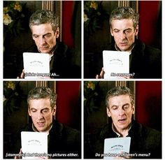 Doctor Who - Doctor - Peter Capaldi Bbc Doctor Who, 12th Doctor, Twelfth Doctor, I Like Him, Out Of Touch, Don't Blink, Peter Capaldi, Torchwood, Time Lords