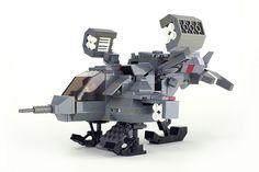 Lego Chibi USCM Cheyenne UD-4L Dropship from Aliens