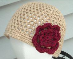 Crochet Hat Toddler to Womens Summer Beanie You by PeanutsCrochet, $18.00