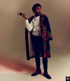 His Wired photo shoot serves a look befitting Lando Calrissian.