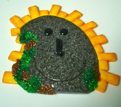 Parker Magical Fairy DOOR - OOAK Polymer Clay Magical Portal