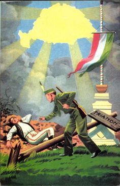 """""""Awake Hungarian, your ancient land is in danger! Poster Drawing, Alternate History, Eastern Europe, Ww2, Austria, Budapest, Retro, Memes, Drawings"""