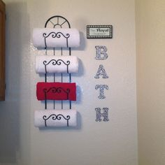 Bathroom decor #bathroom #decorating