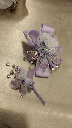 Custom Corsage & Boutonniere Prom '15 Julie 1162