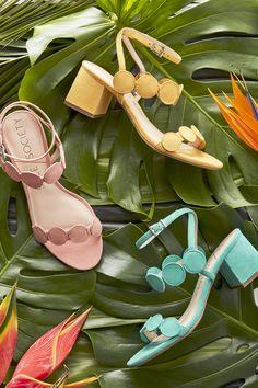 '60s-inspired block heels | Sole Society Shea