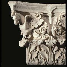 Capitello di lesena dal tempio di Marte Ultore. Roma, Museo dei Fori Imperiali
