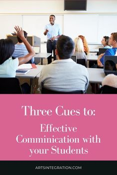 In order to engage in an effective communication, teachers need to be on the watch for three important cues. Let's talk about that. Visual Thinking Strategies, Teaching Strategies, Forms Of Communication, Effective Communication, Levels Of Understanding, Make A Game, Arts Integration, Specific Goals, Creative Teaching