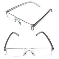 mini slim rimless portable reading glasses eyeglasses light fashion purple white personal pinterest reading glasses
