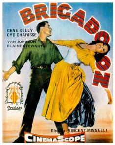 Brigadoon (1954)......Uploaded By www.1stand2ndtimearound.etsy.com