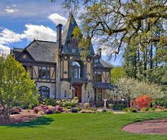 There are many historic Victorian homes and mansions — some in use as wineries — in California's Napa Valley.