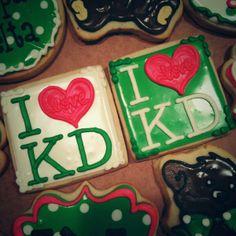 I Heart KD Cookies