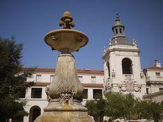 パサデナ建物訪問記1 パサデナシティーホールと裏手にある教会  Pasadena   Los Angeles Architecture