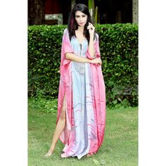 Silk is 100 percent natural, and is entirely washable. This silk kaftans can be hand-washed in cool water. Hand-washing your beautiful Pure silk kaftan. Silk Kaftan, Beach Wear, Two Piece Dress, Designer Collection, Sari, Tunic, Fancy, Swimwear, How To Wear