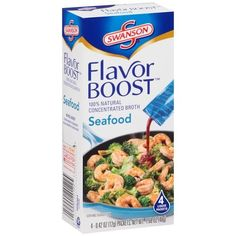 Swanson Flavor Boost Seafood