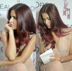 Katrina kaif,love that hair colour!!!