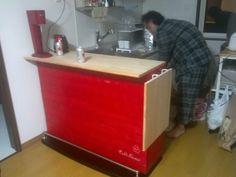 DIY 第1弾 バーカウンター - dassouheis jimdo page!