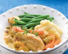 Chicken Casserole & Mash recipe from Food in a Minute