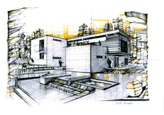 Domestic architecture.© 2012 by Alexandru Mihai Ticalo. All rights reserved