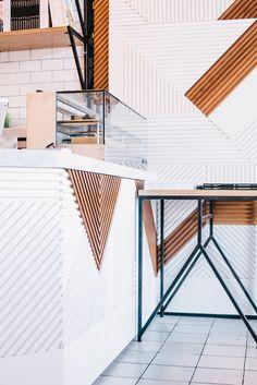 Best Recomended Art Deco Interior Design Ideas for Your Home Cafe Design, Interior Design Studio, Küchen Design, Home Interior, Modern Interior Design, Interior Architecture, House Design, Interior Rendering, Nordic Design