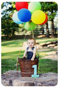 Cute birthday photo idea