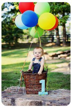 Cute birthday photo idea