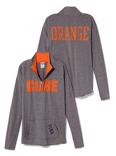 Syracuse Raw Half-zip Pullover -  I want a million of these :)