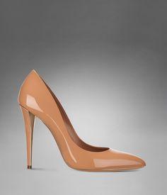 YSL Clara High-Heel in Pale Beige; a gorgeous blush pump