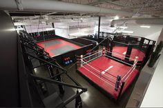 Toronto MMA Gym - Call - Thornhill call - MMA & fitness training with expert coaches offering Kickboxing, Boxing, Krav Maga, Brazilian Jiu Jitsu & more! Dojo, Boxing Gym Design, Jiu Jitsu Gym, Mma Classes, Karate, Kickboxing Gym, Fight Gym, Dream Gym, Gym Facilities