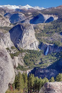 Yosemite National Park, CA. Photo: Ken Hornbrook via Flickr; From Glacier Point, California