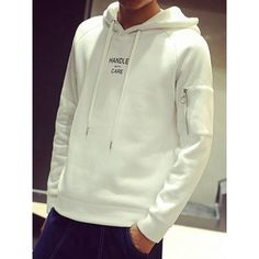 Material: Cotton Blends  Clothing Length: Regular  Sleeve Length: Full  Style: Casual  Weight: 0.560KG  Package Contents: 1 x Hoodie  Our Size	Bust	Length M	100	65 L	104	66 XL	108	67