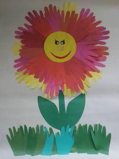 цветы аппликация 4