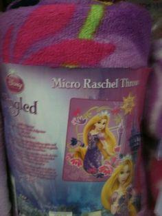 Disney New Tangled Blanket by Disney. $31.99. Tangled Micro Raschel Blanket. Fun design