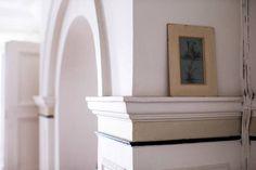 parisian interiors white arched architecture