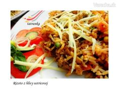 Rizoto z hlivy ustricovej (fotorecept) - recept Ethnic Recipes, Food, Essen, Yemek, Meals