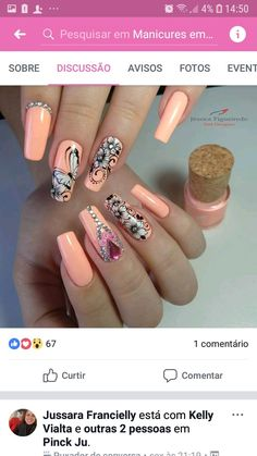 Sally Nails, Stamping, Jazz, Nail Designs, Nail Art, Beauty, Pink Nail, Flower Nails, Gorgeous Makeup