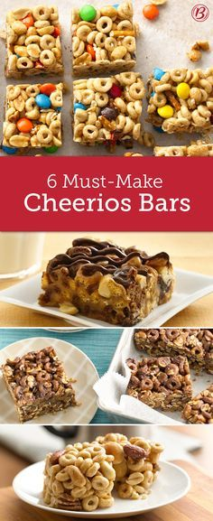 Sweet, salty and packed with goodies like chocolate, honey, pretzels and peanut butter, these no-bake Cheerios bars are perfect afternoon snacks.