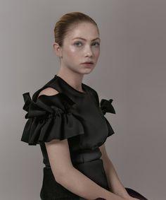 Simone Rocha top, $1,000, net-a-porter.com, and skirt, $1,240, modaoperandi.com.