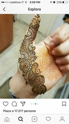Indian Mehndi Designs, Full Hand Mehndi Designs, Mehndi Designs For Beginners, Modern Mehndi Designs, Mehndi Design Pictures, Mehndi Designs For Girls, Mehndi Designs For Fingers, Beautiful Henna Designs, Henna Tattoo Designs