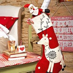 Shabby & Country Life: Red & White for christmas..