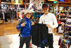 【大阪店】2014.06.10 高校生のお二人です!ジョーダンブランド大好きで最近よく来てくださいます^^また遊びに来て下さい^^ #jordan