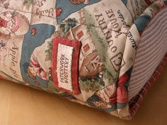 Storybook Pillow - publisher (my label!)