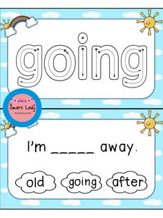Sight Word Task Cards First Grade .  Inside you will find 41 task cards and missing sentences sets for the first set of Dolch Primer sight words.  These cards are as easy as print, laminate, and cut! They are great for centers, Daily Five, small groups, and assessment.