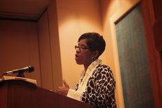 Karen Loritts speaking in a workshop at The Gospel Coalition Women's Conference 2012. TGCW12, via Flickr.