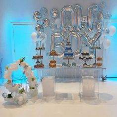 #poparazzi #poparazziballoons #balloonsdelivered #balloons #babyshower #babylove #ohboy #balloonbackdrop #balloongarland