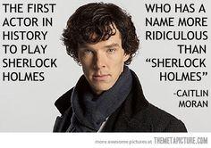 Benedict Cumberbatch. I love that name.
